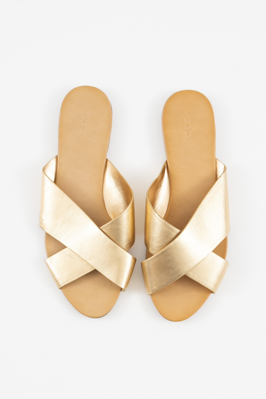 ALDO Sandale Gelb Gr.39