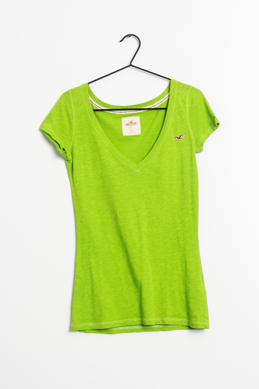 Hollister Co. T-Shirt Grün Gr.S
