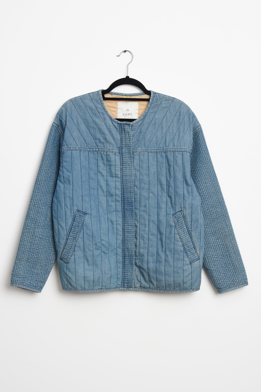ADPT. Leichte Jacke / Fleecejacke Blau Gr.M