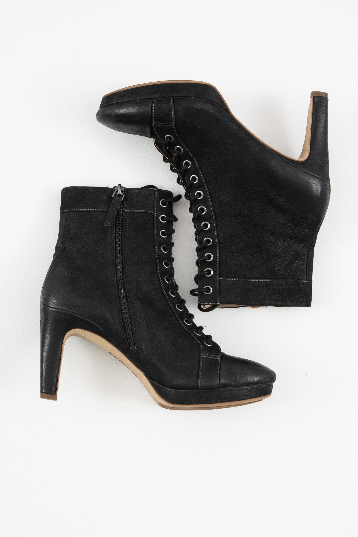 ecco Stiefel / Stiefelette / Boots Schwarz Gr.40
