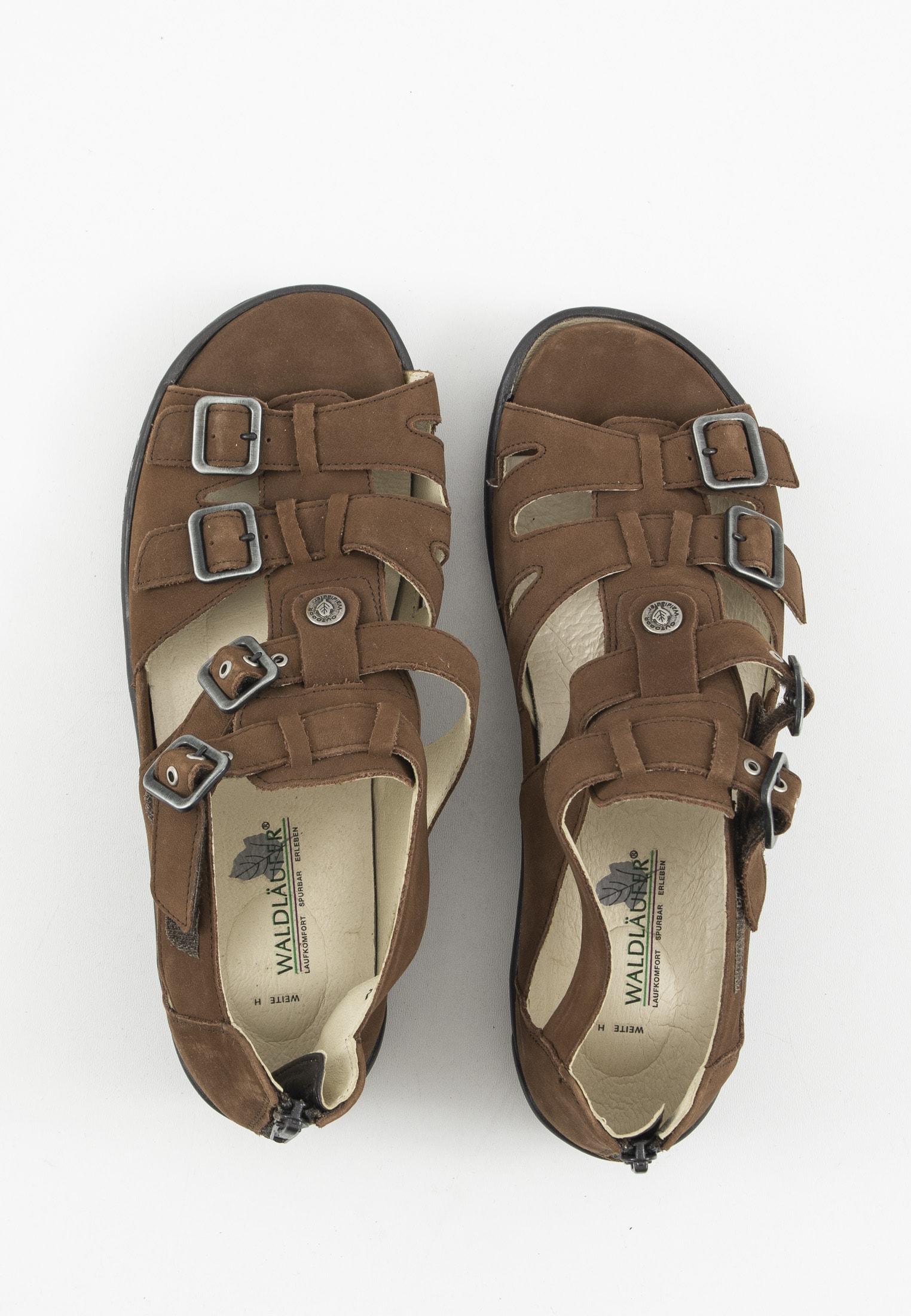 Waldläufer Sandale Braun Gr.39