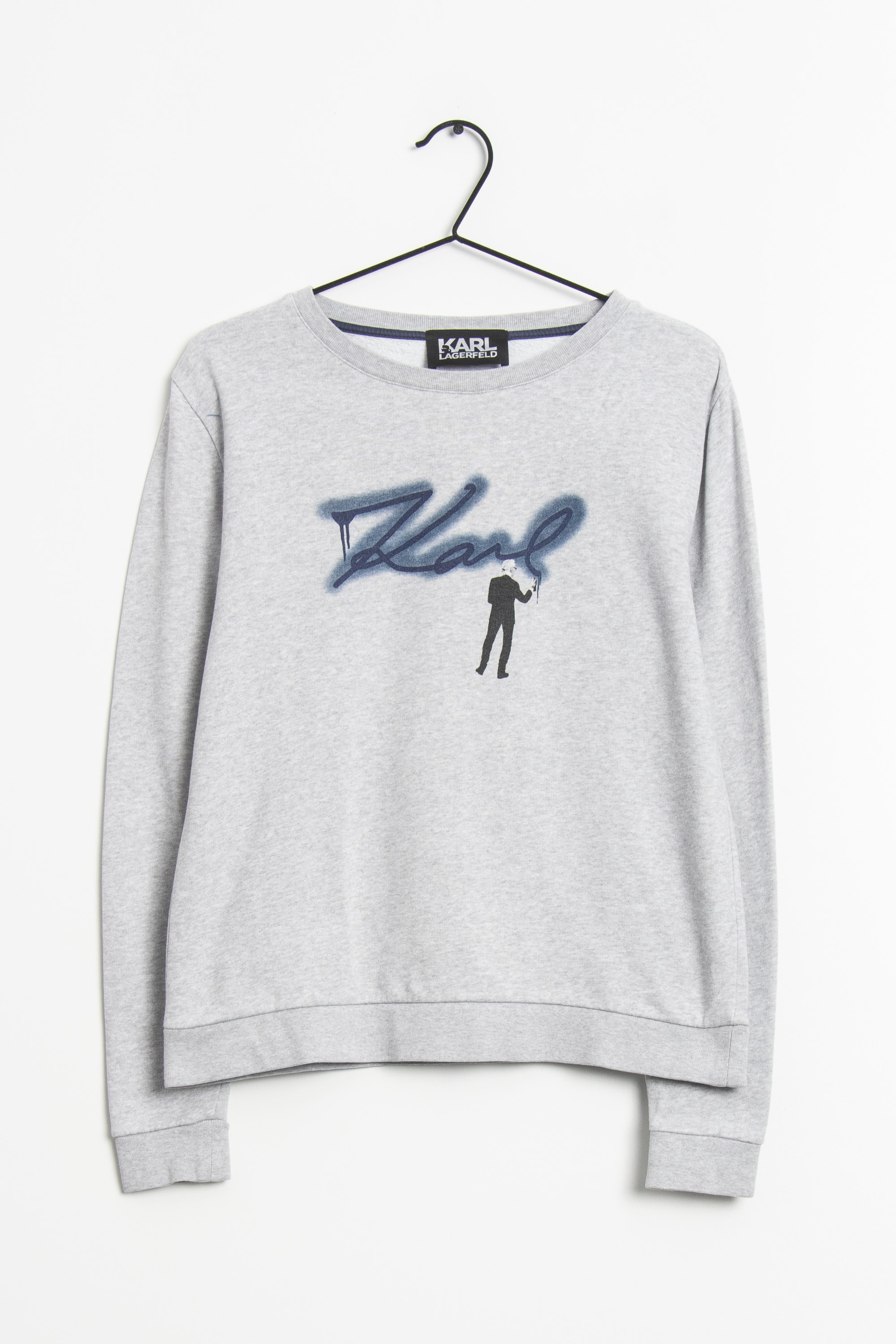 KARL LAGERFELD Sweat / Fleece Grau Gr.XS