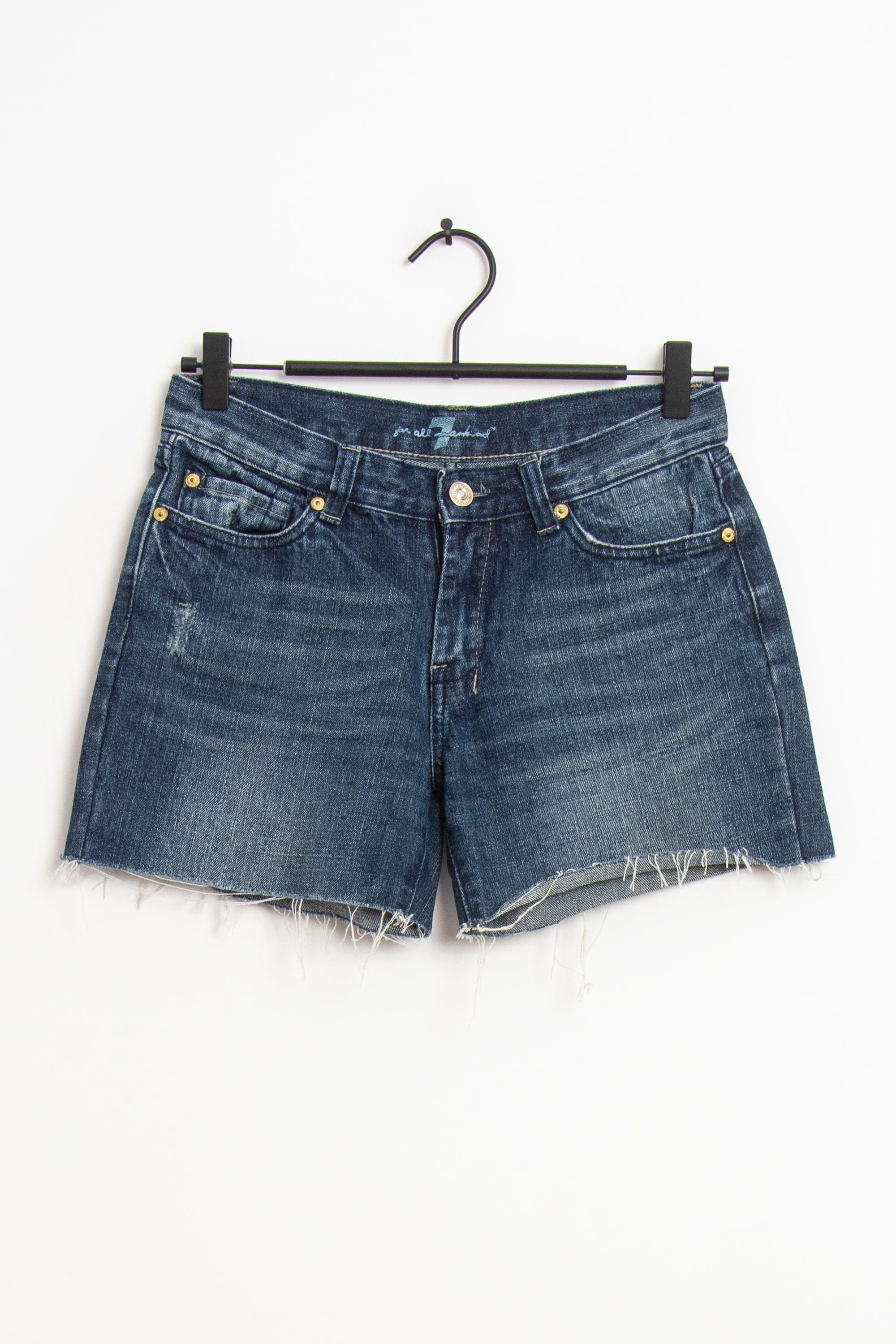 7 for all mankind Shorts Blau Gr.36