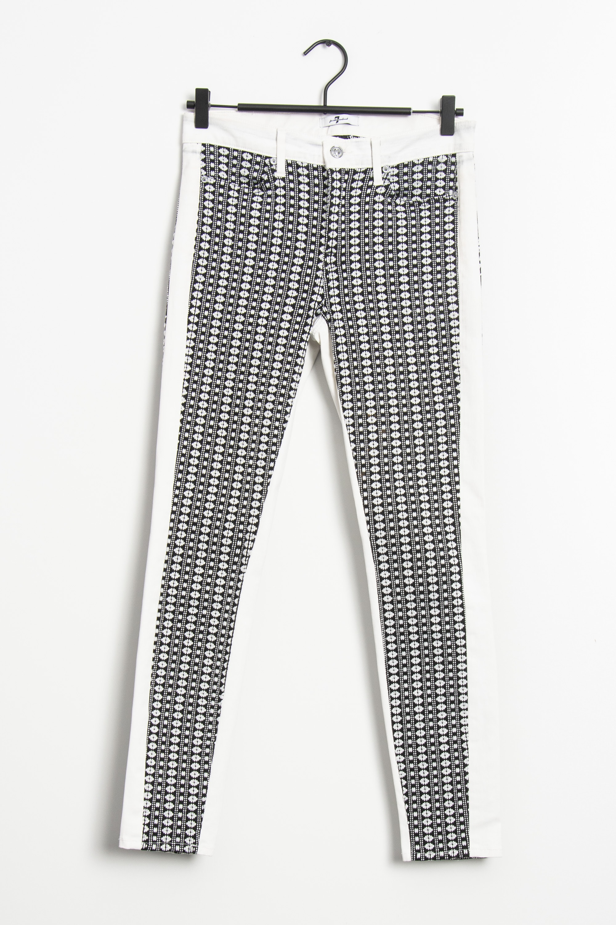 7 FOR ALL MANKIND Stoffhose Mehrfarbig Gr.S