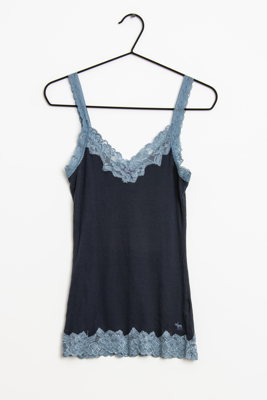 Abercrombie & Fitch Top Blau Gr.M