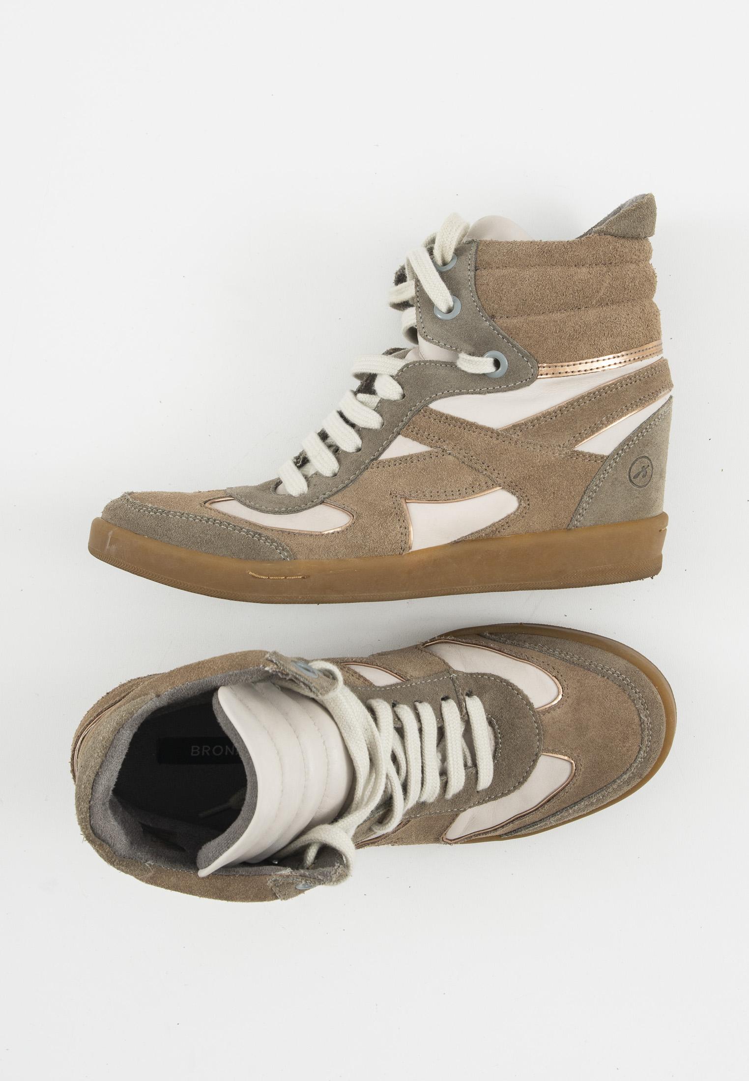 Bronx Stiefel / Stiefelette / Boots Braun Gr.39