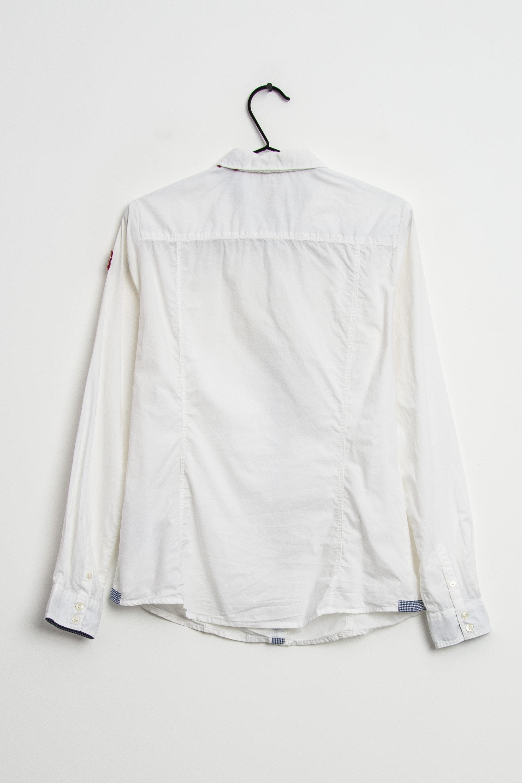 Napapijri Bluse Weiß Gr.M