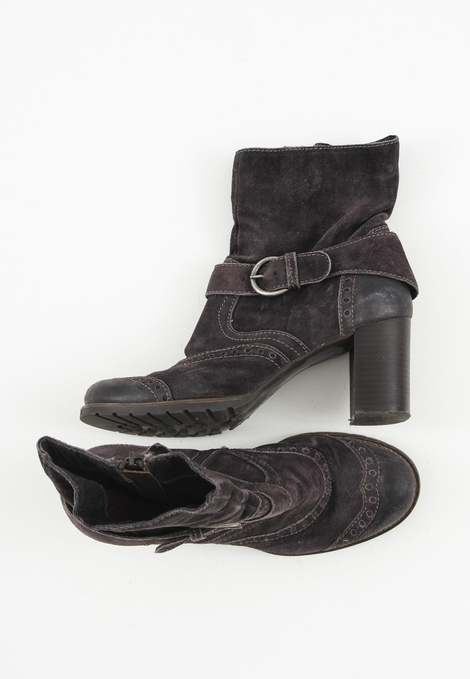 Belmondo Stiefel / Stiefelette / Boots Braun Gr.38