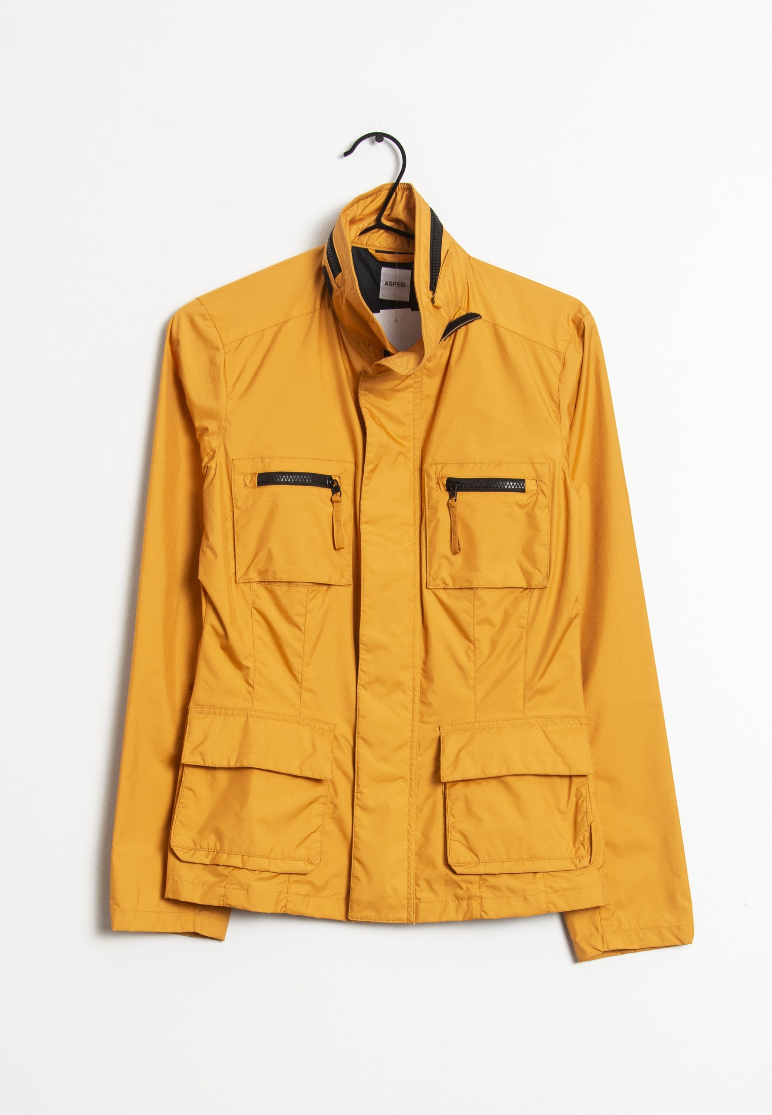 ASPESI Leichte Jacke / Fleecejacke Orange Gr.S