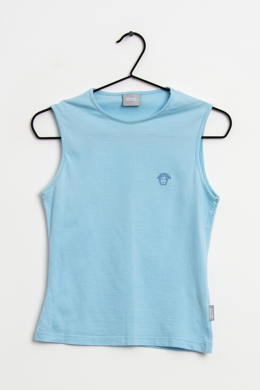 Versace Jeans Couture Top Blau Gr.XS