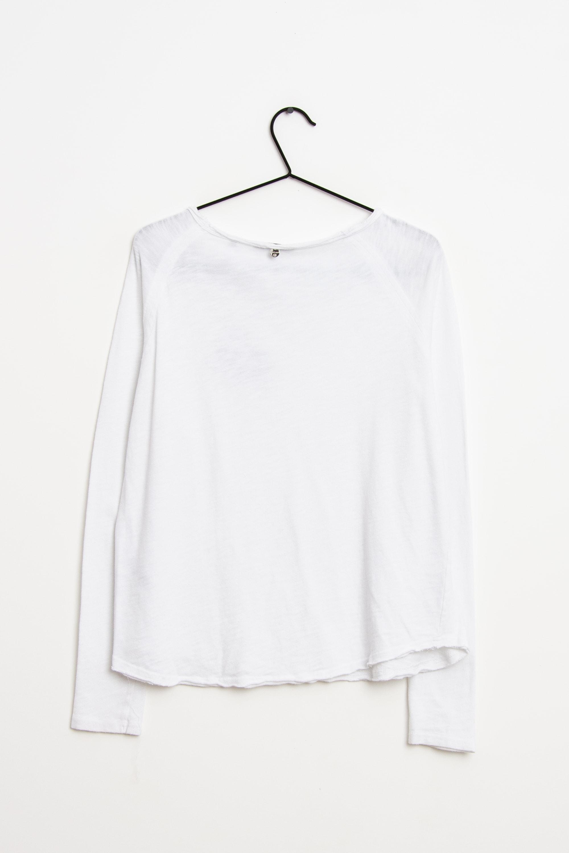 Rich & Royal Langarmshirt Weiß Gr.M