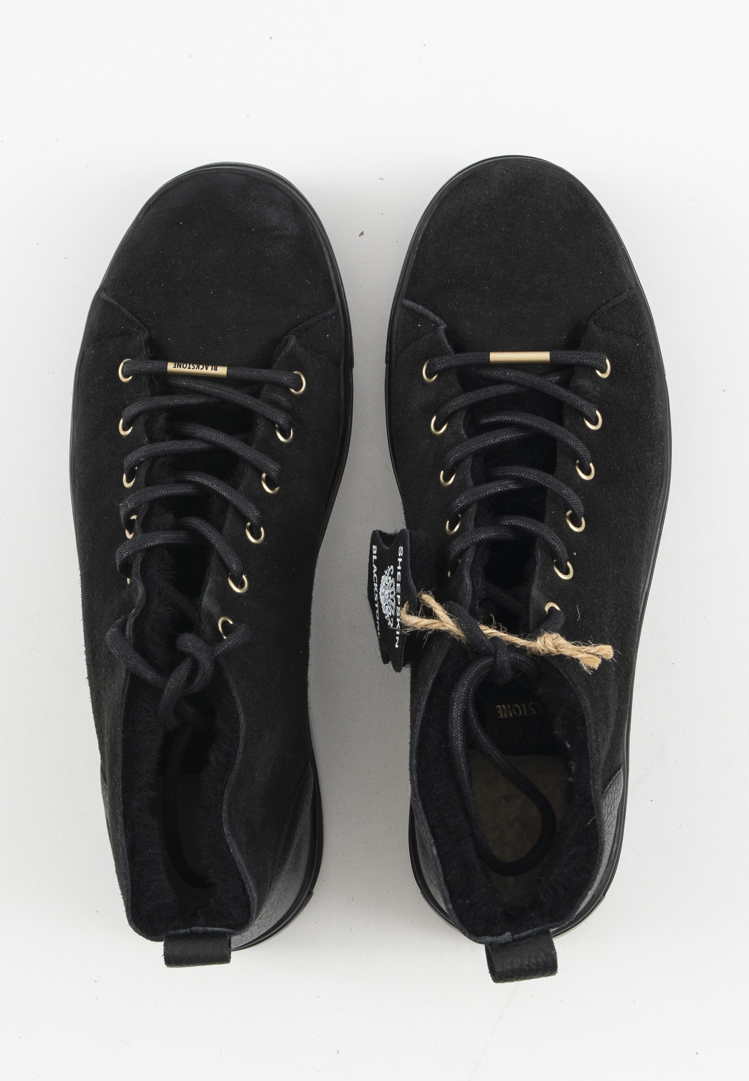 Blackstone Sneakers Schwarz Gr.39
