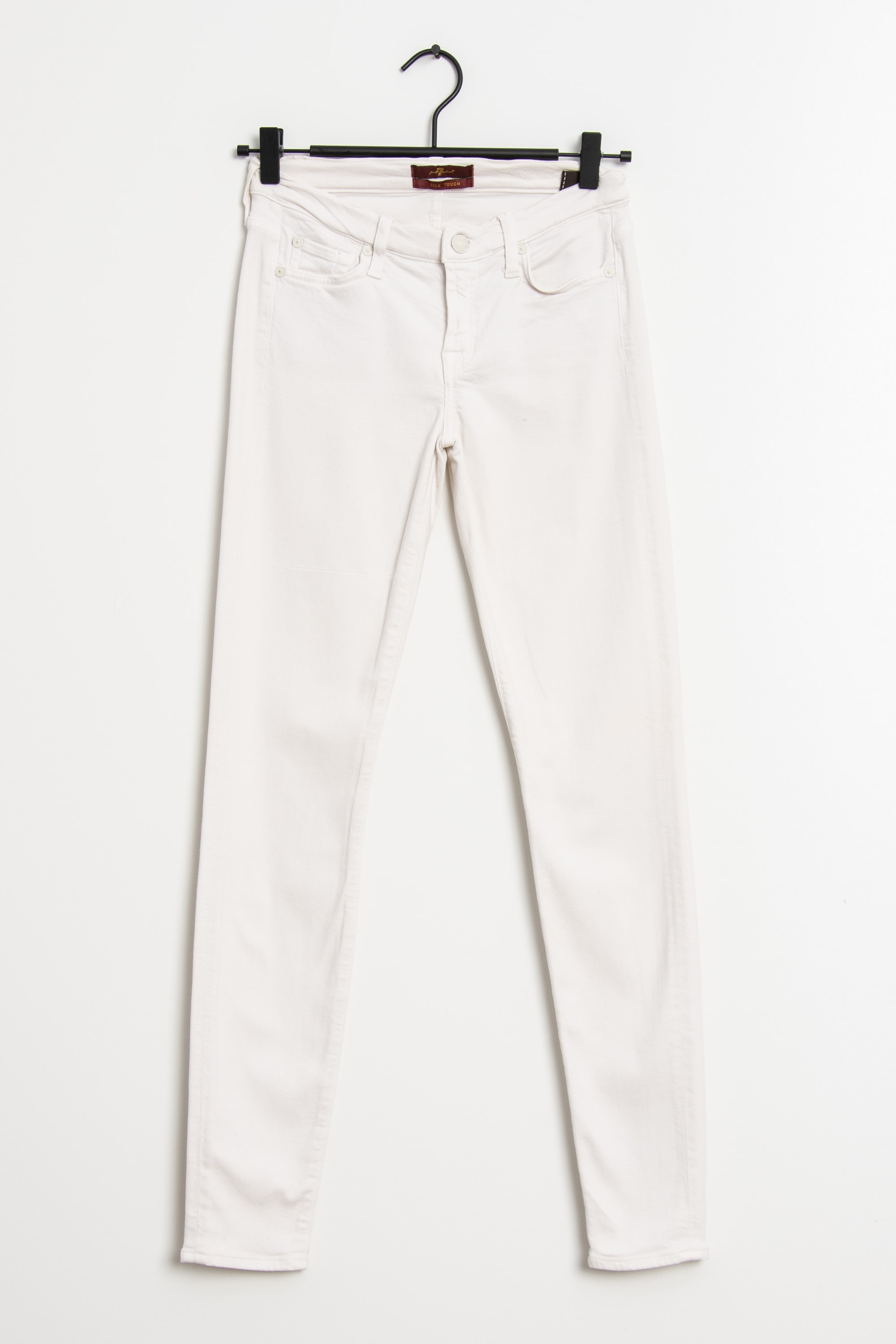 7 for all mankind Stoffhose Weiß Gr.S