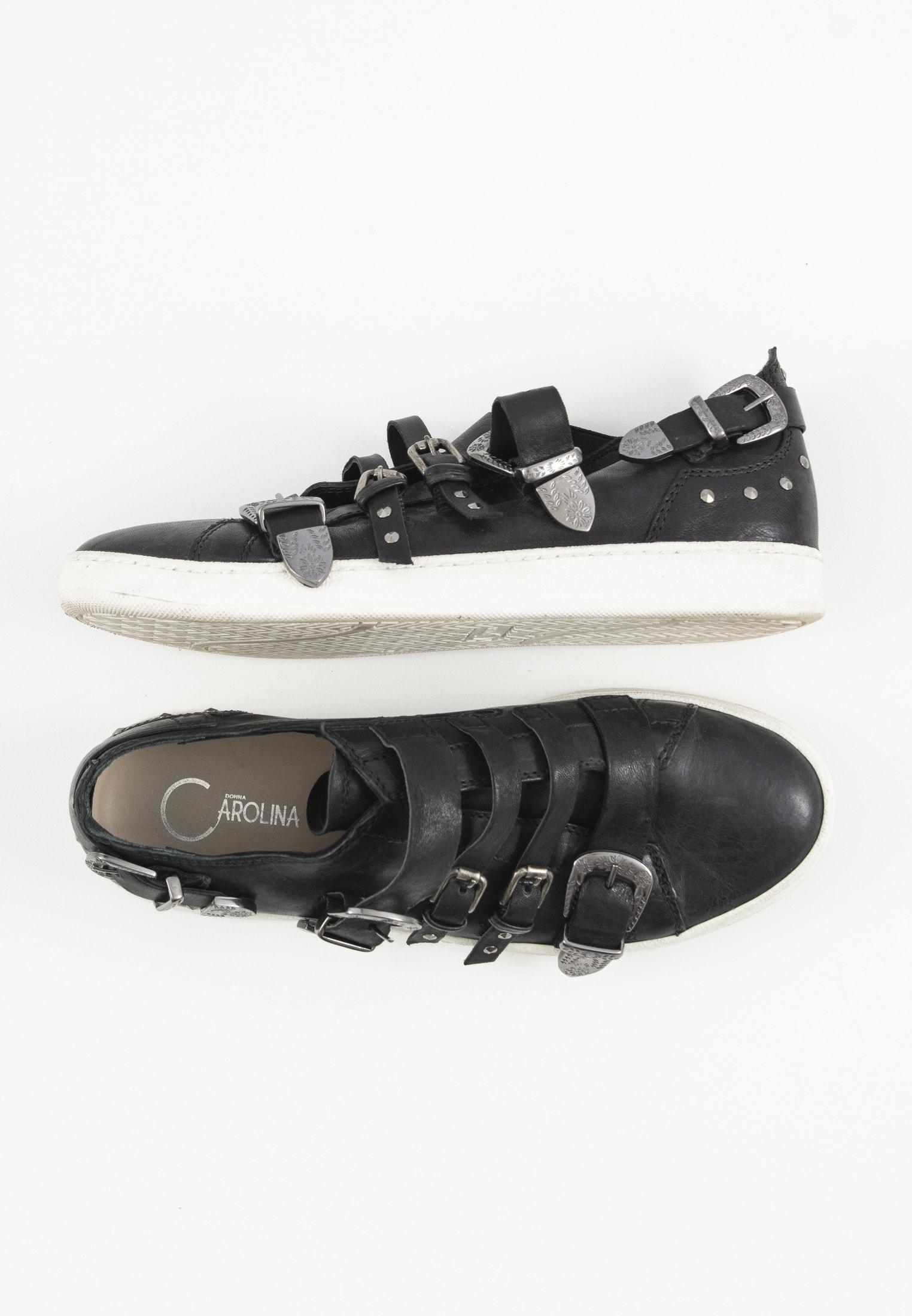 Donna Carolina Sneakers Schwarz Gr.39