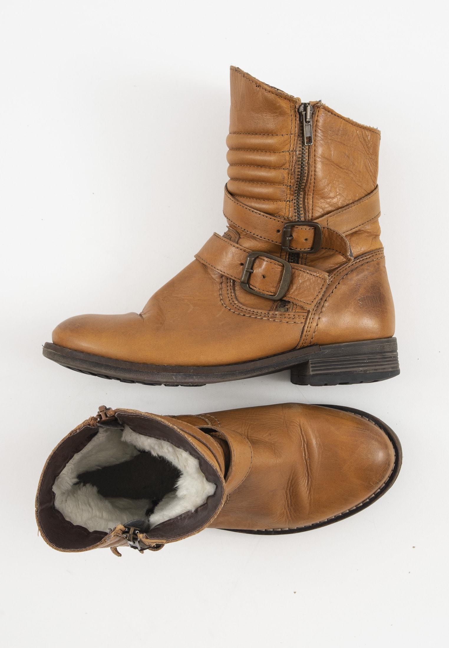 Shoot Stiefel / Stiefelette / Boots Braun Gr.38