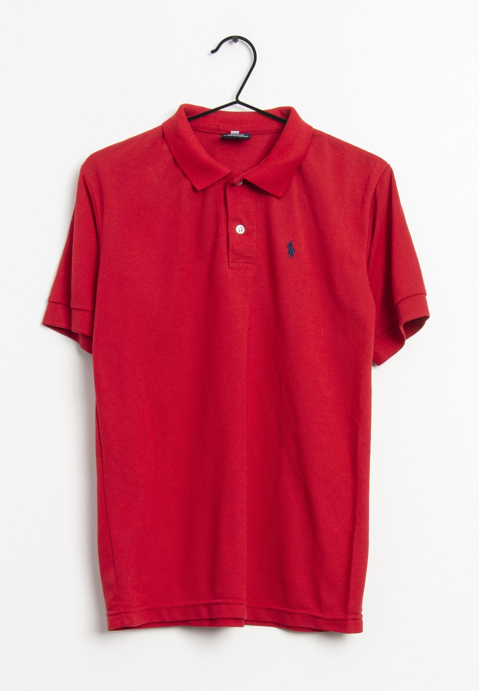 Polo Ralph Lauren T-Shirt Rot Gr.M