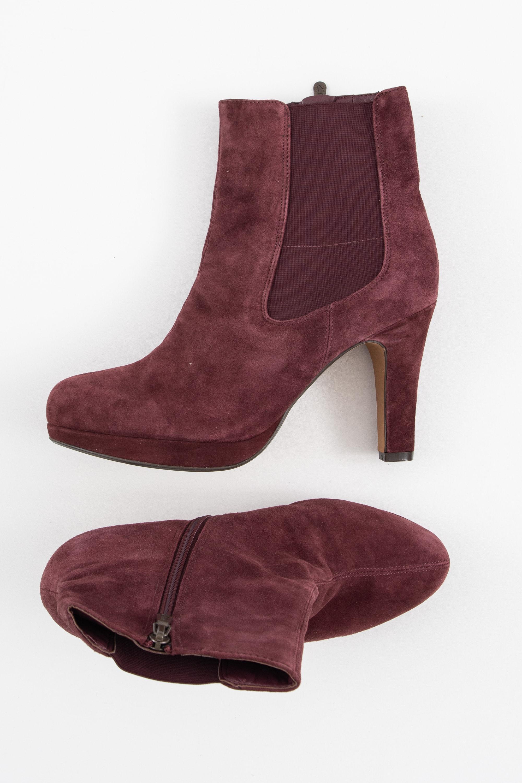 Clarks Stiefel / Stiefelette / Boots Lila Gr.39.5