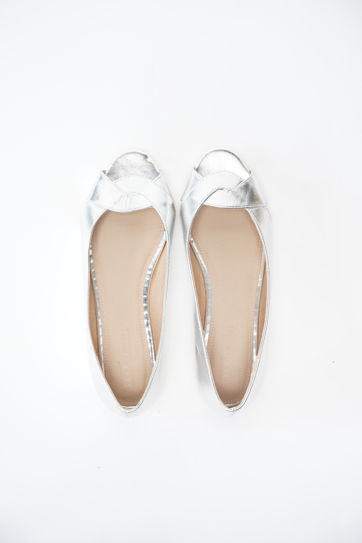 Asos Halbschuh / Ballerina Grau Gr.38