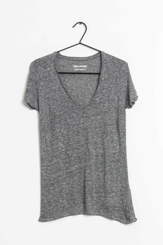 Zadig & Voltaire T-Shirt Grau Gr.S