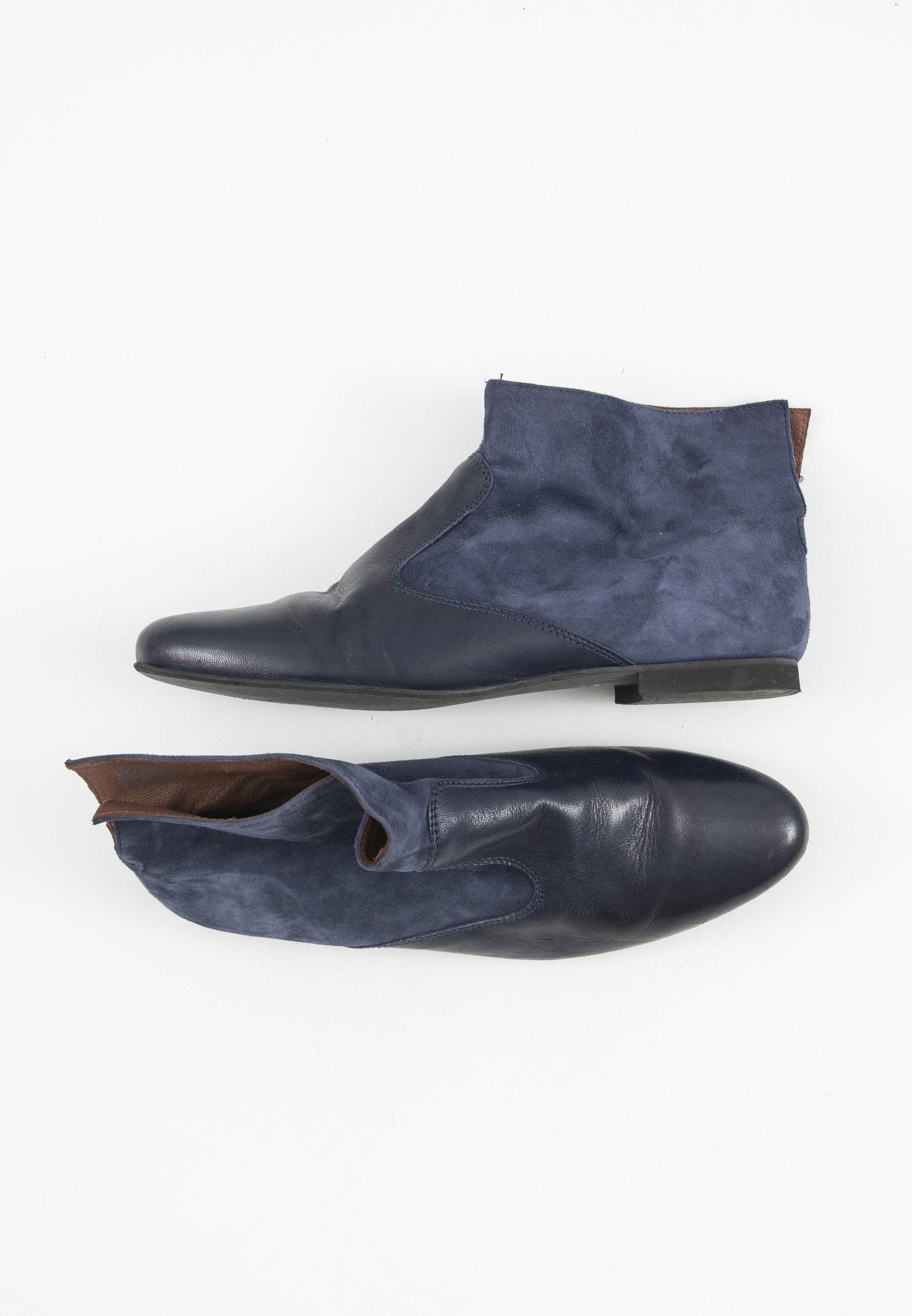 BOCAGE Stiefel / Stiefelette / Boots Blau Gr.40