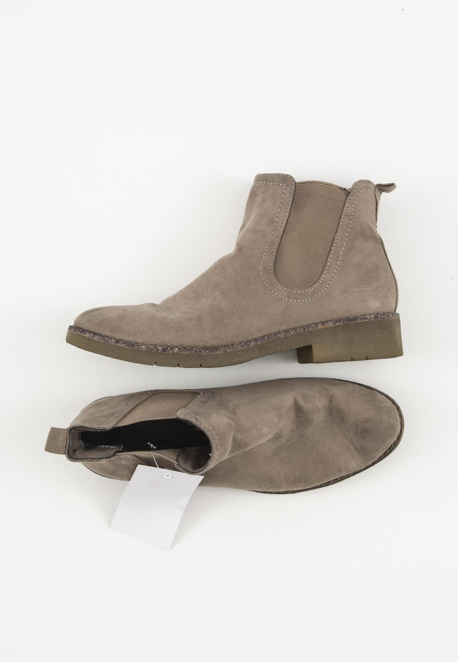 Tamaris Stiefel / Stiefelette / Boots Beige Gr.37