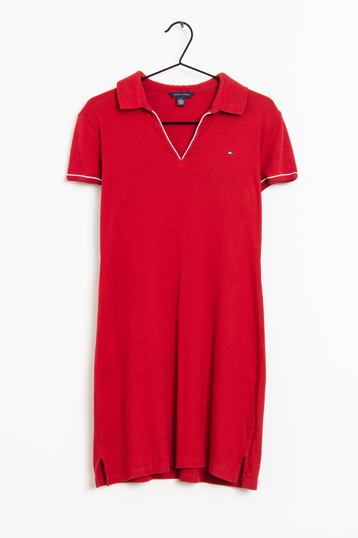 Tommy Hilfiger Kleid Rot Gr.M