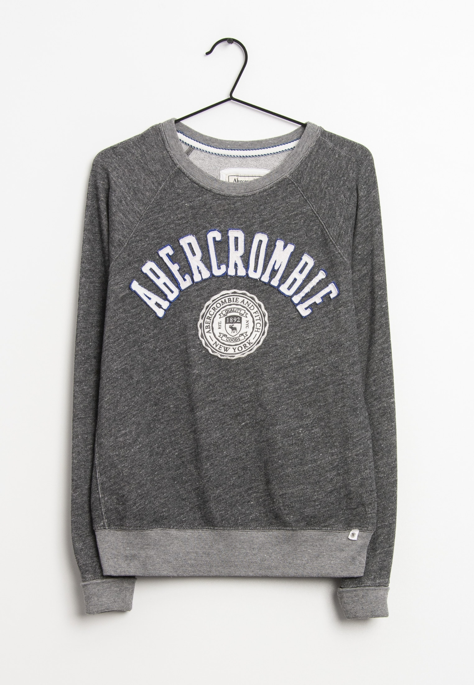 Abercrombie & Fitch Sweat / Fleece Grau Gr.S