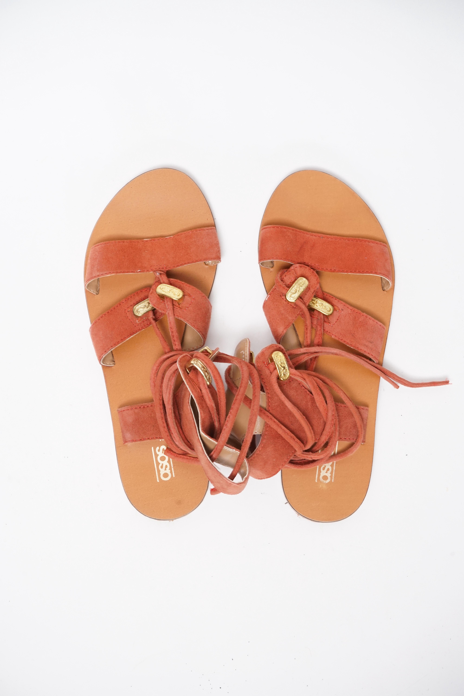 Asos Sandale Braun Gr.37