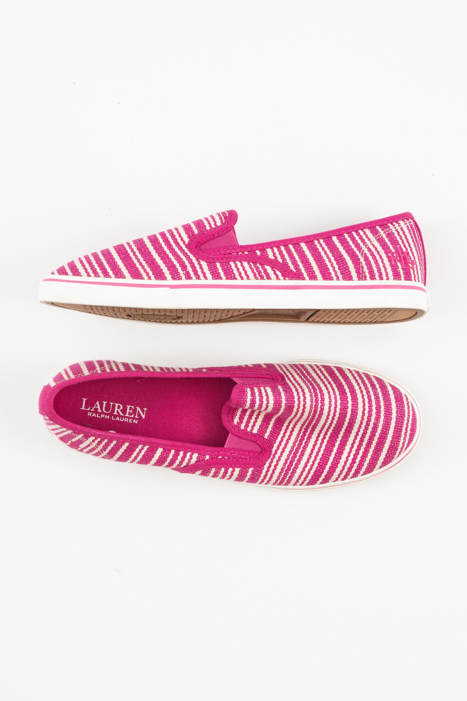Lauren Ralph Lauren Halbschuh / Ballerina Pink Gr.41
