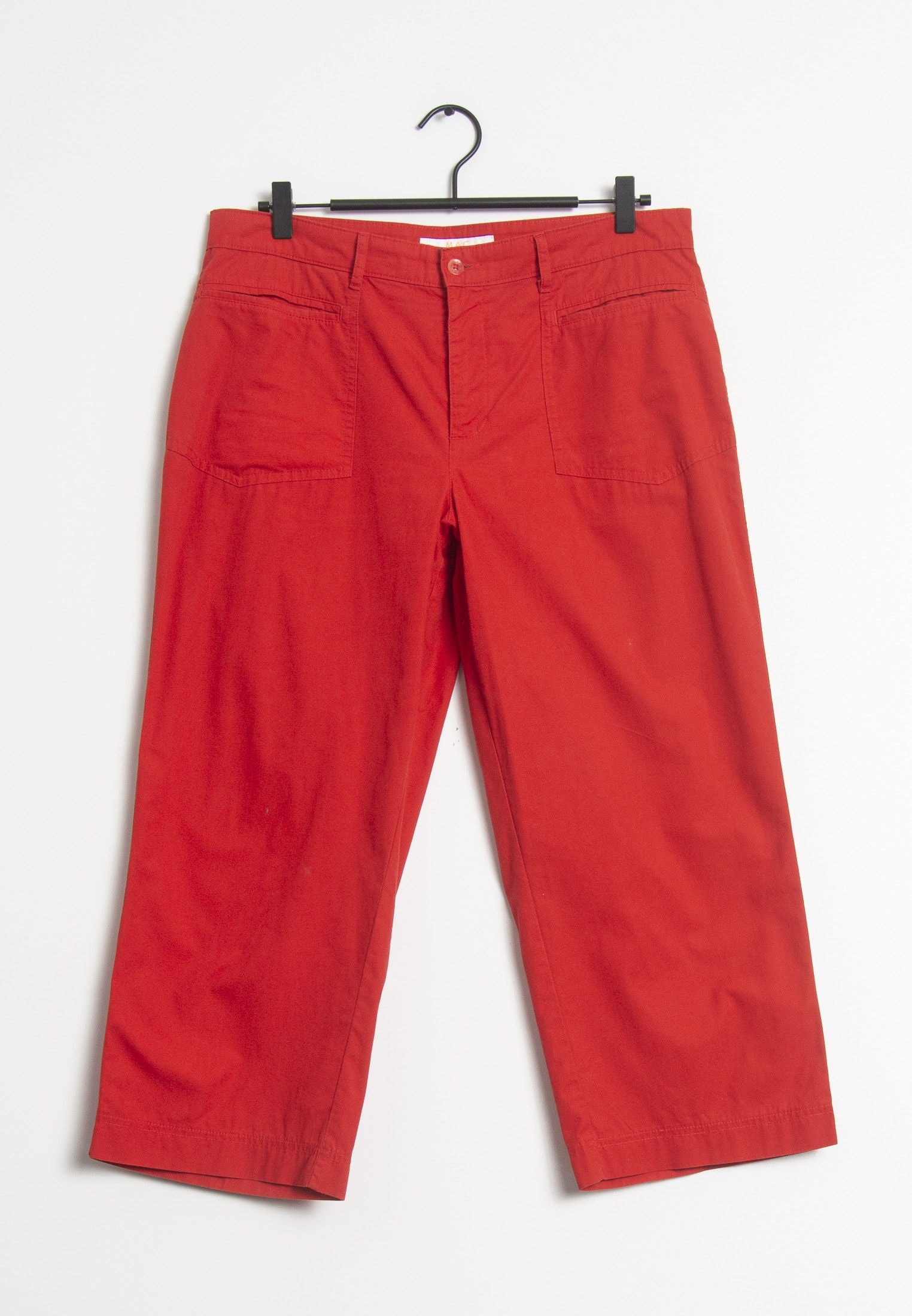 MAC Jeans Stoffhose Rot Gr.42