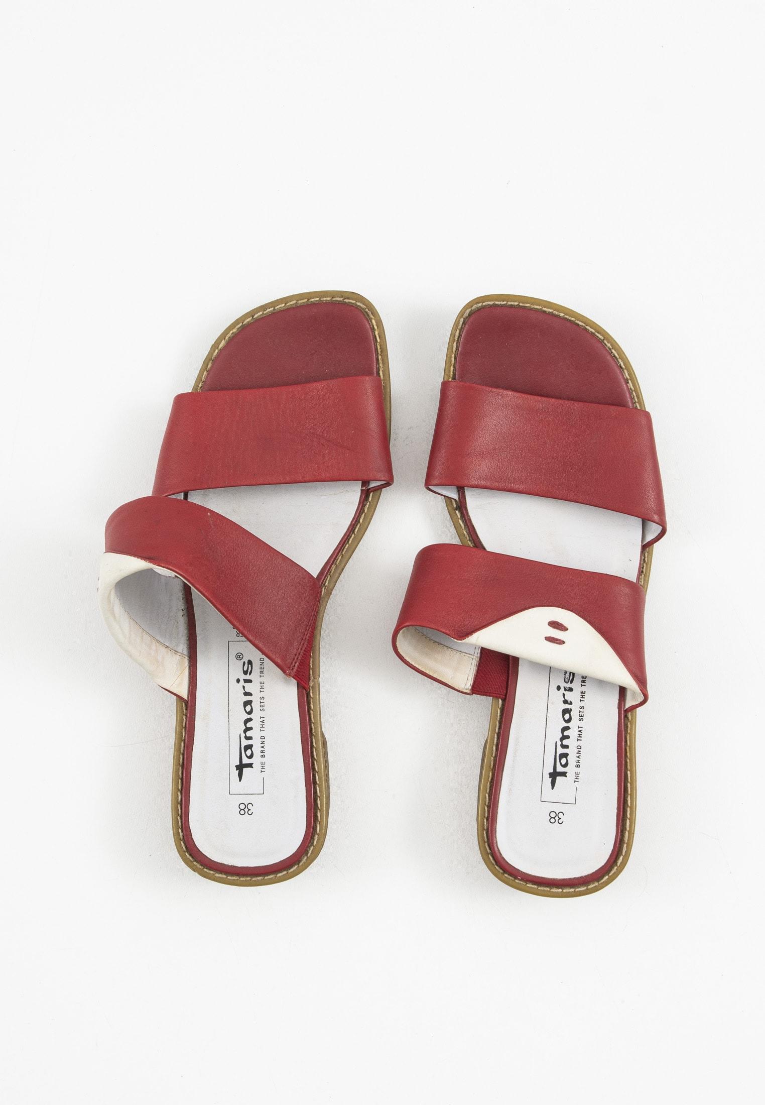 Tamaris Sandale Rot Gr.38