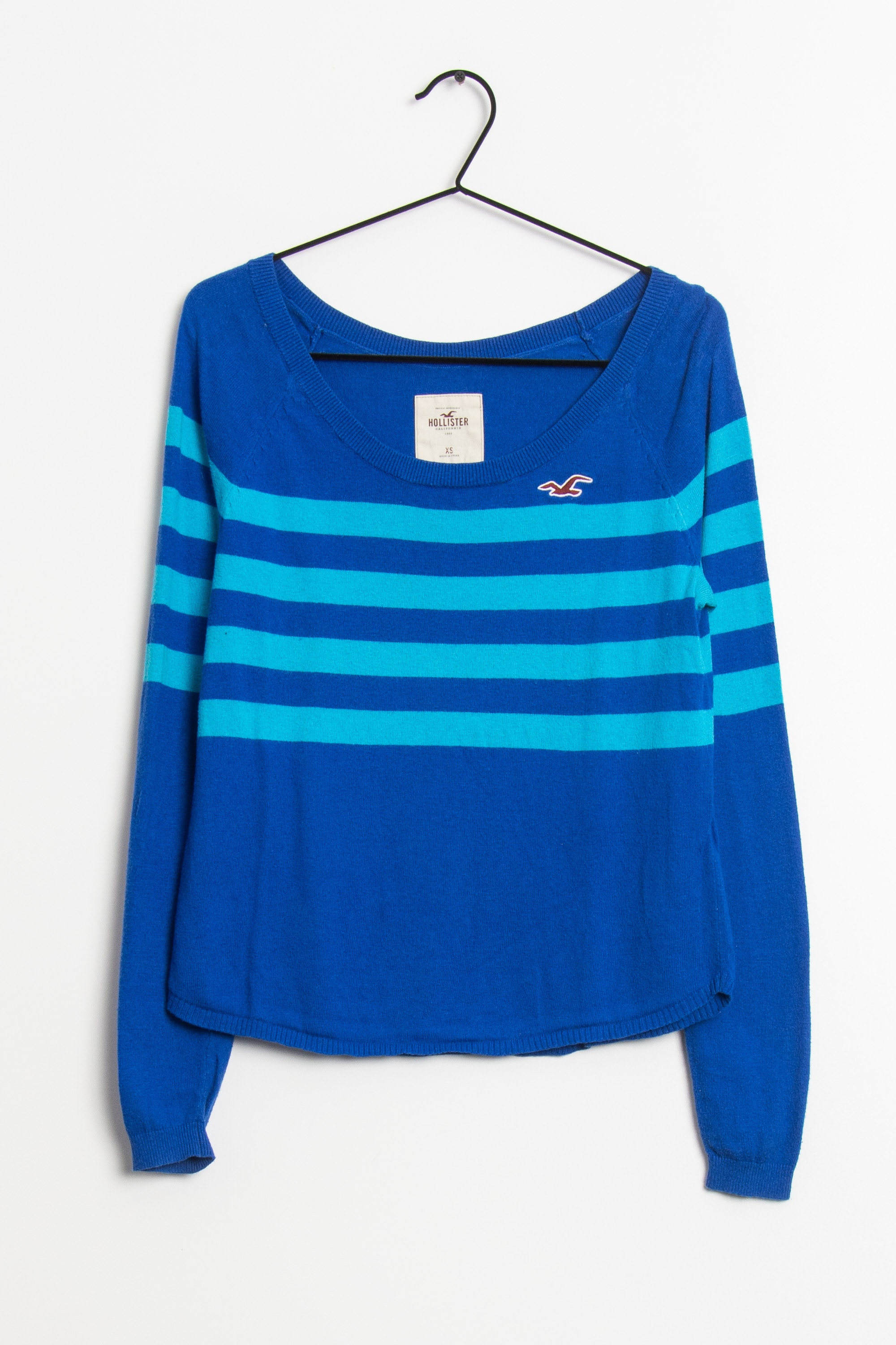 Hollister Co. Strickpullover Blau Gr.XS
