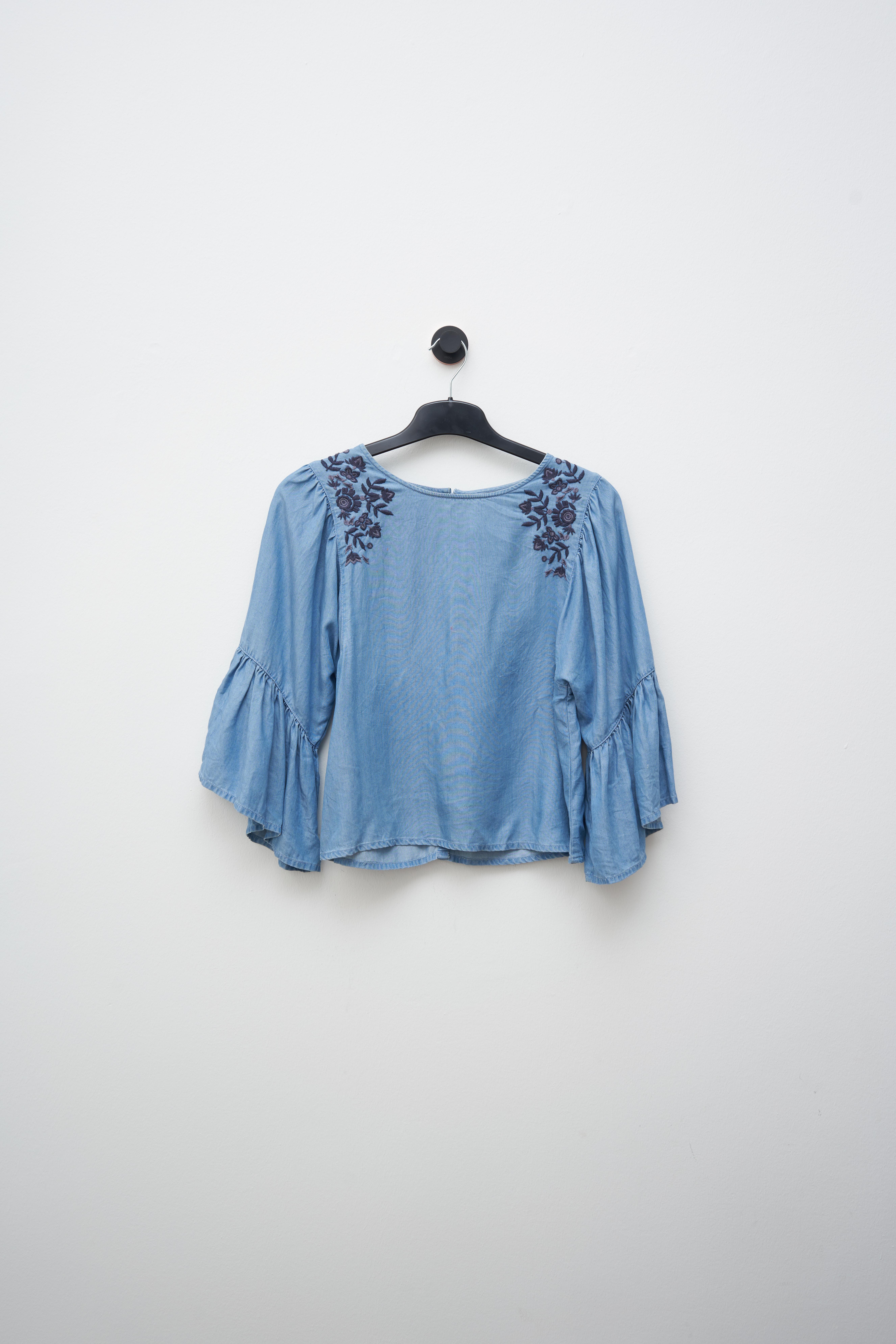 Hollister Co. Bluse Blau Gr.M