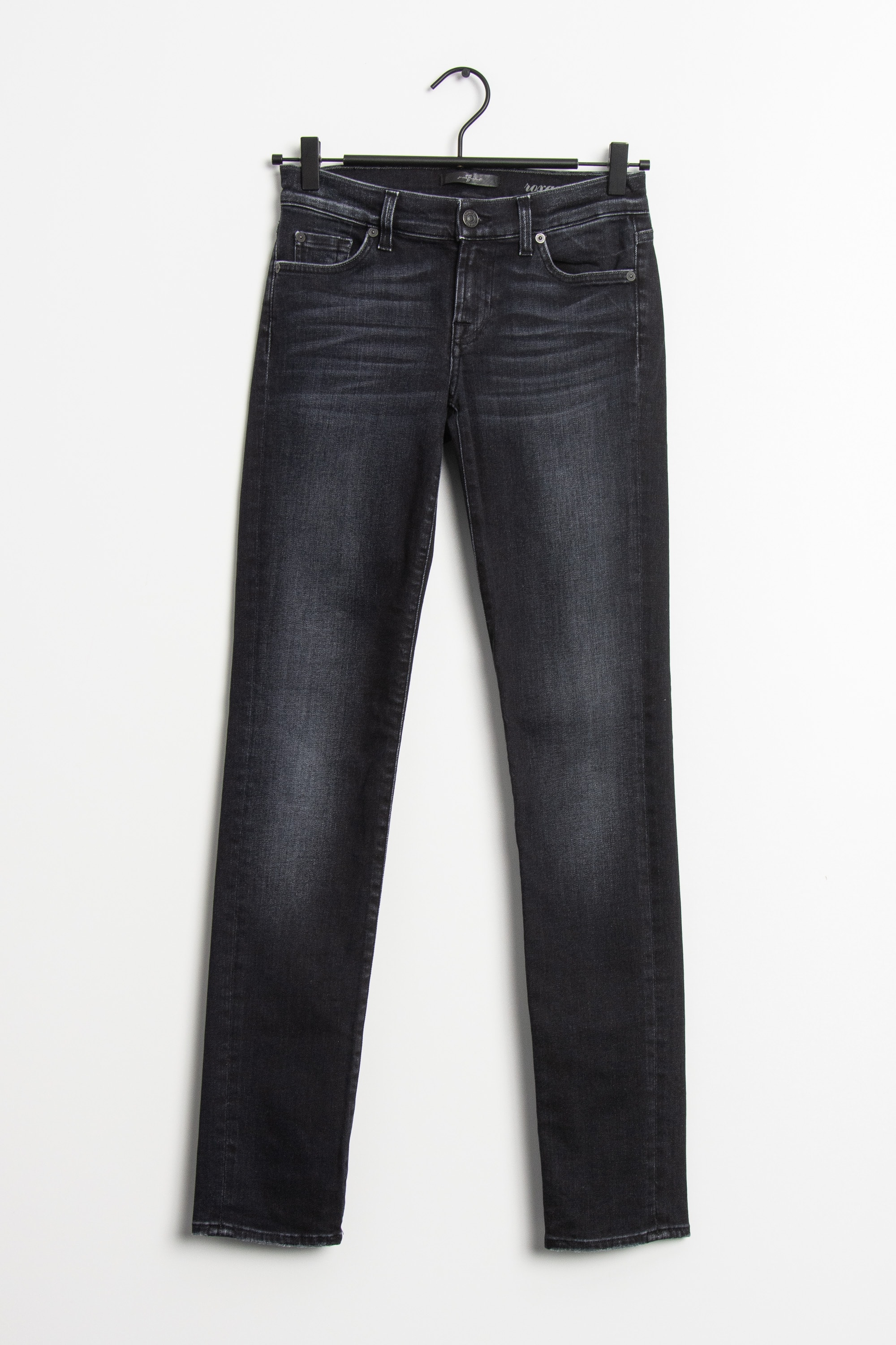 7 FOR ALL MANKIND Jeans Schwarz Gr.XS