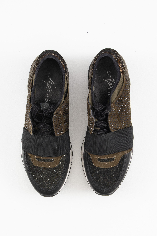 Alpe Sneakers Grün Gr.38