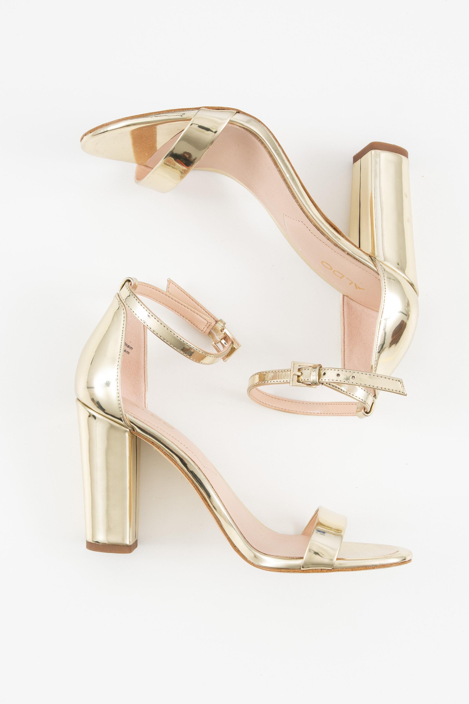 ALDO Sandale Gelb Gr.36