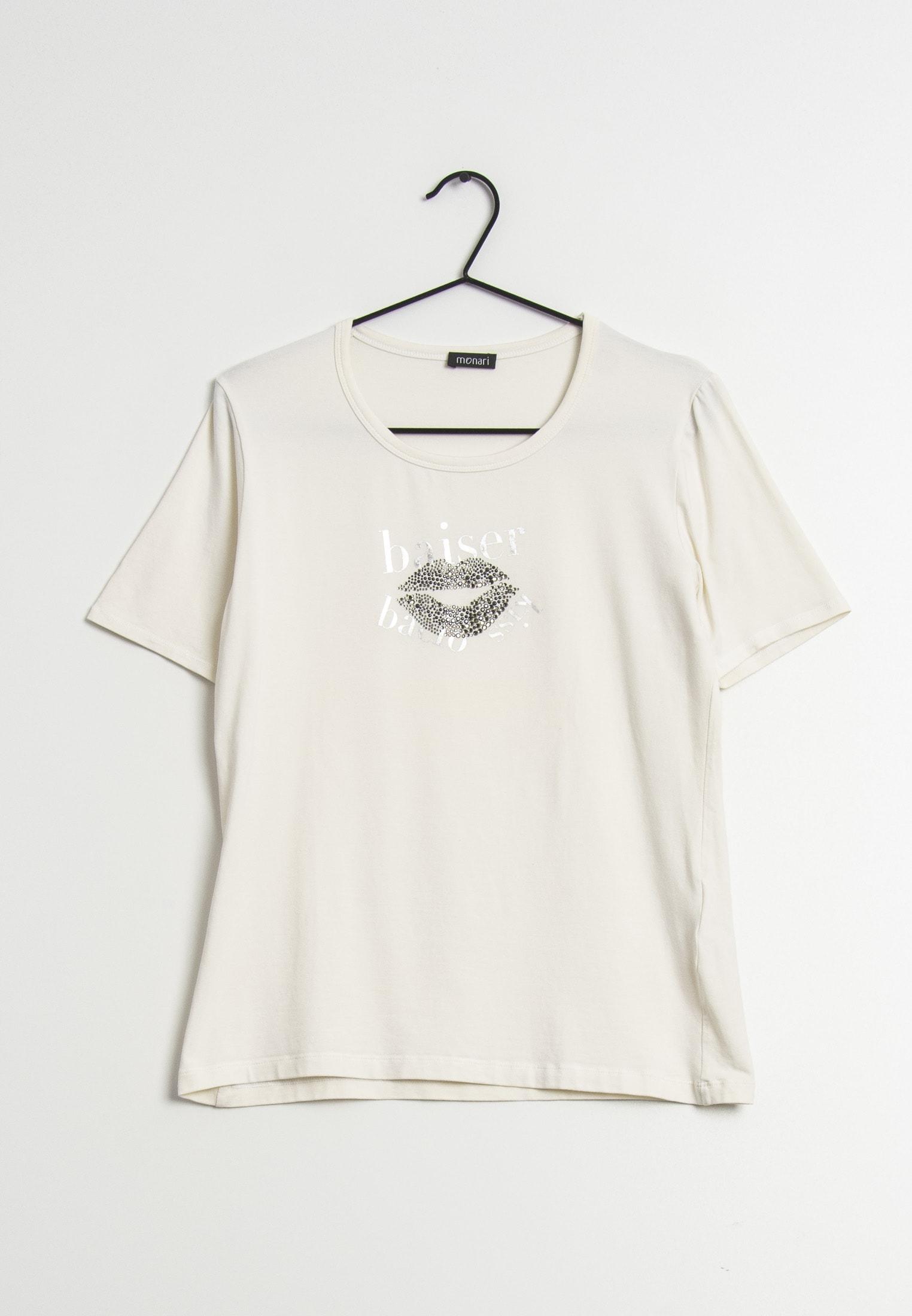 Monari T-Shirt Blau Gr.42