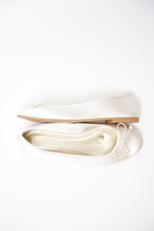 Asos Halbschuh / Ballerina Beige Gr.40