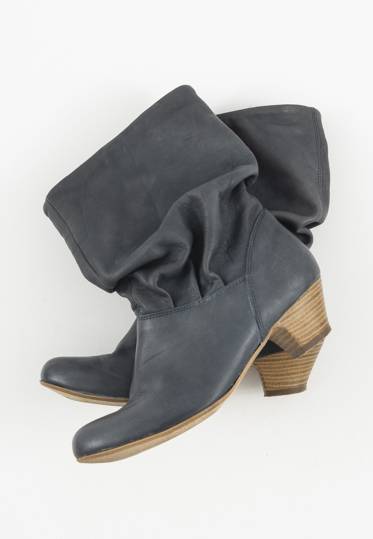Akira Stiefel / Stiefelette / Boots Blau Gr.37