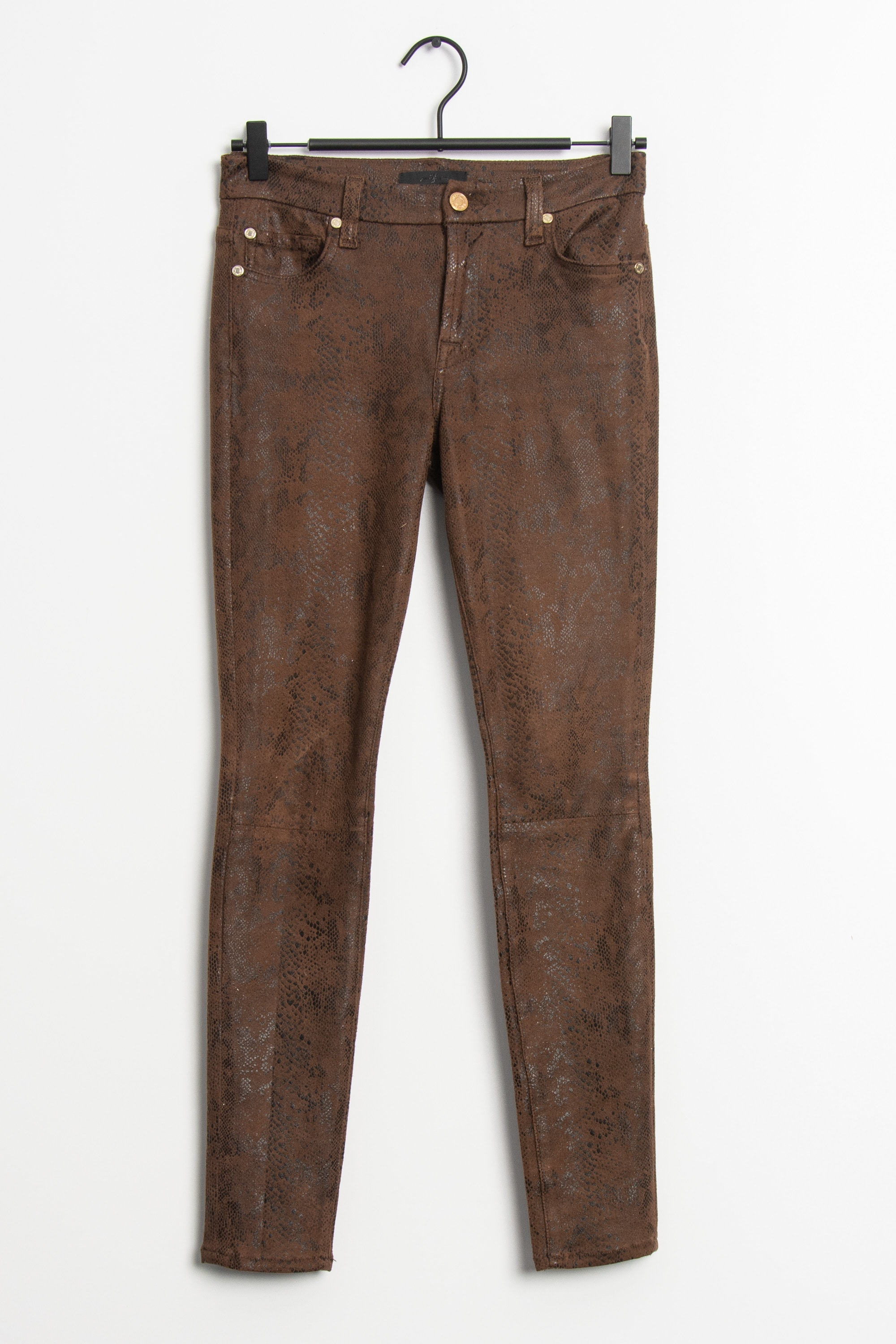 7 for all mankind Stoffhose Braun Gr.XS