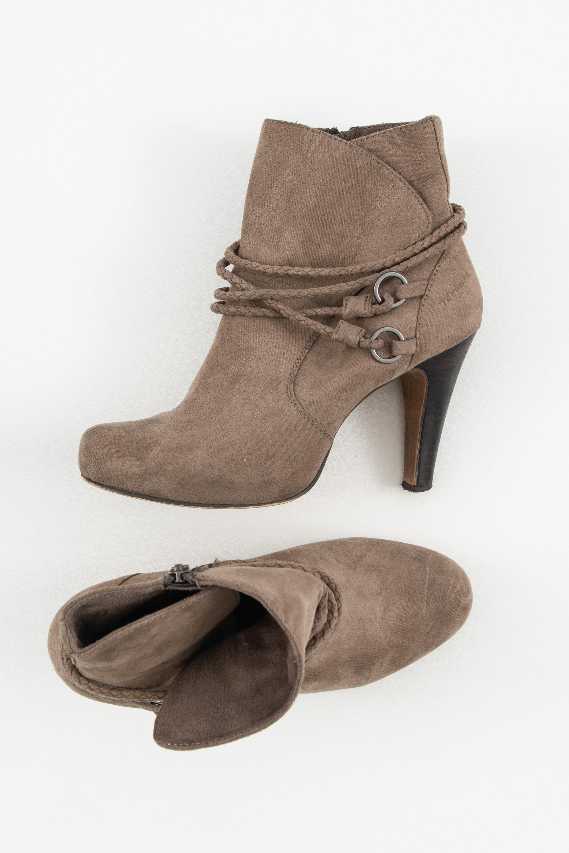 Tamaris Stiefel / Stiefelette / Boots Beige Gr.40