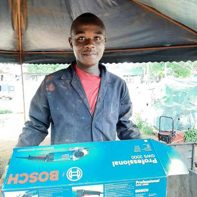 Azubi Hasan Mwafrika - stolz und dankbar