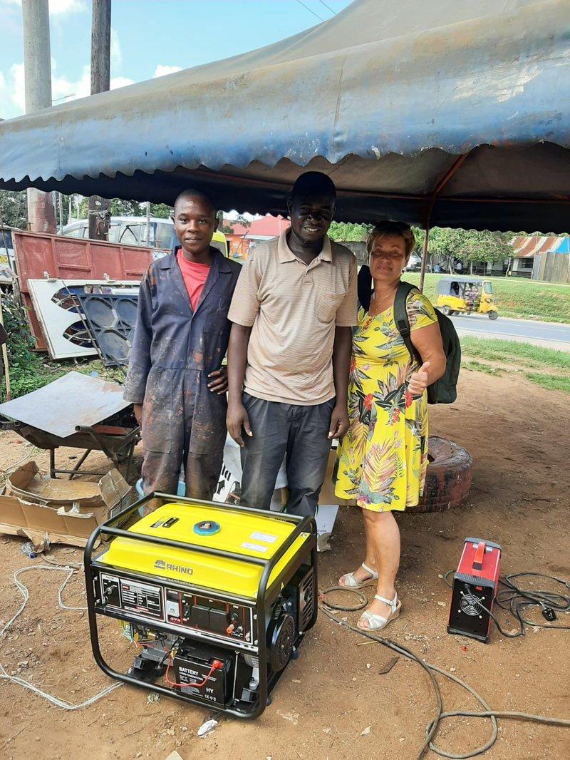 neuer Generator - Anschaffung für die Zukunft