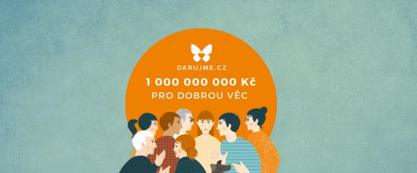 Tornádo akcelerovalo české online dárcovství. Objem darů překročil 1 mld. Kč