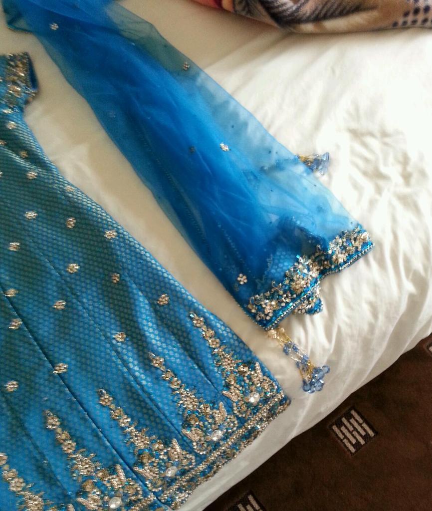 Asain wedding party wear clothes-image-1