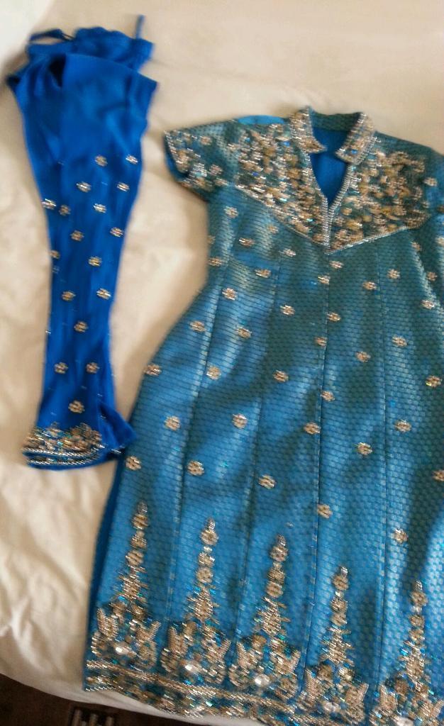 Asain wedding party wear clothes-image-2