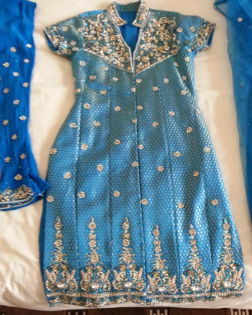 Asain wedding party wear clothes-image-3