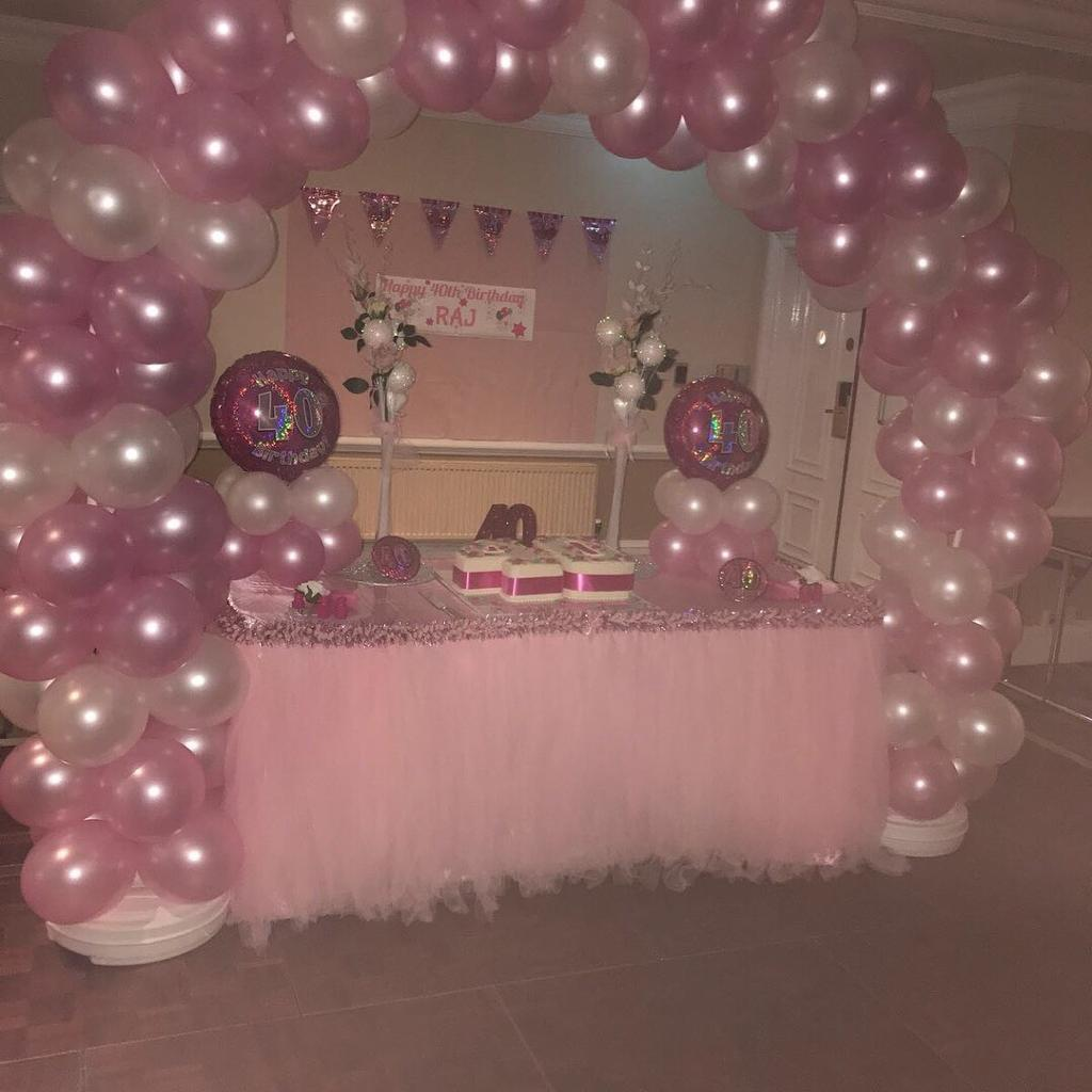 Balloon Arch - for all Occasions, Birthday, Christening, Weddings, Baby Shower & Graduation Party-image-2