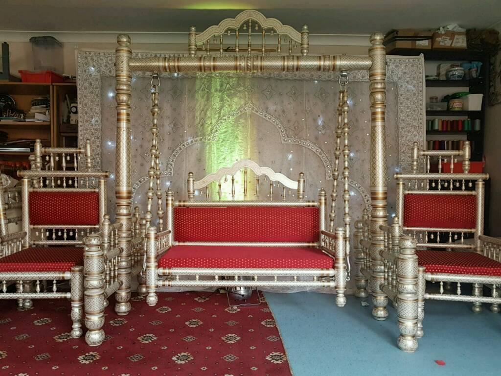 Wedding or mehndi jhoola for hire