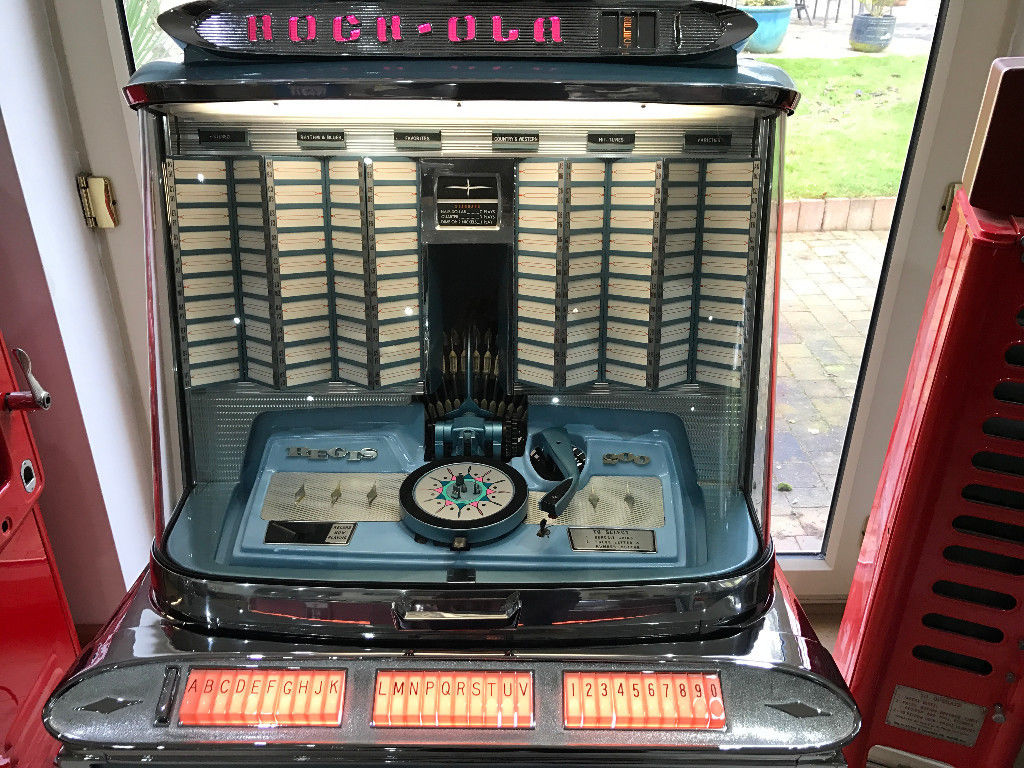 FULLY RESTORED 1961 ROCK OLA REGIS JUKEBOX 200 SELECTION WITH INTERMIX  TURNTABLE